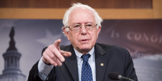 Bernie Sanders nation Etats-Unis fondée principes racistes