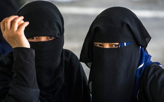 Chine burqa vetement extremisme
