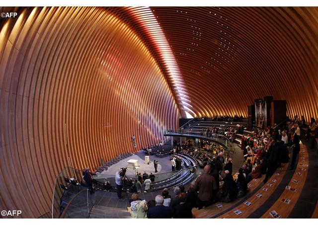 La photo: La première cathédrale française du XXIe siècle…