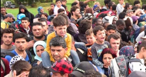 Internationale socialiste ONU Occident chrétien accueillir réfugiés musulmans