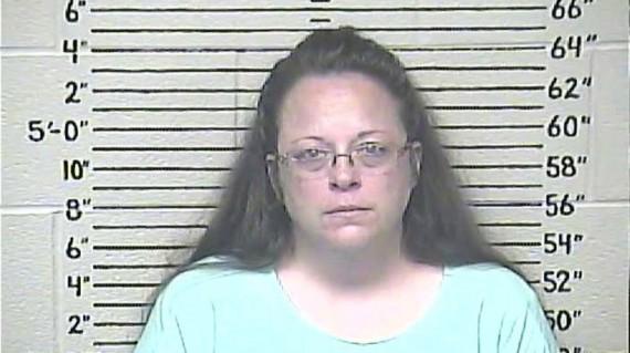 Kim Davis mariage homosexuel prison