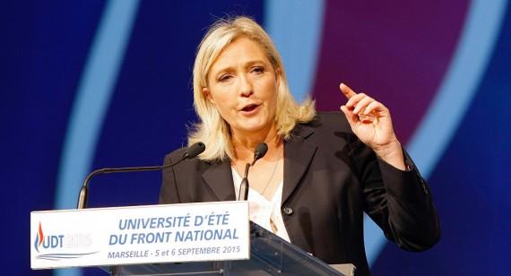 Marine Le Pen veut partenariat France Russie renforcé