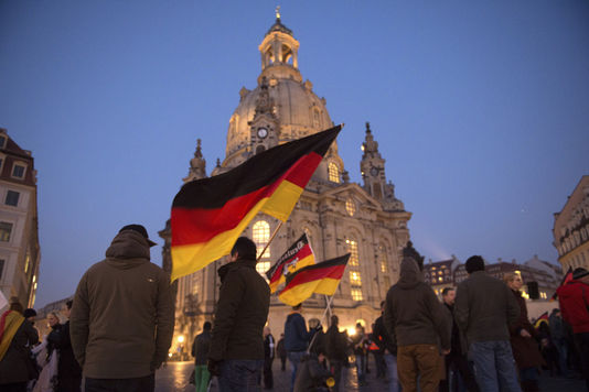 20.000 chiffre  manifestants Dresde