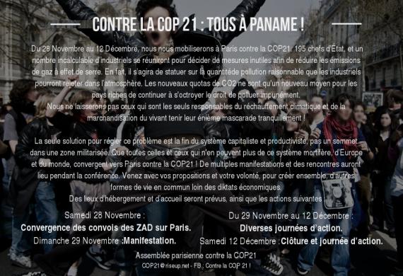 COP21compagnies énergies fossiles procès responsabilité civile