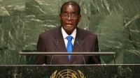«Nous ne sommes pas gays!», lance, à la tribune de l'ONU, le président du Zimbabwe Robert Mugabe