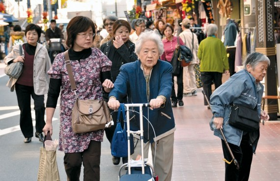 Hiver démographiqueJapon refuseimmigration solutionallemande
