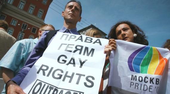 Homosexuels classés pour la Russie