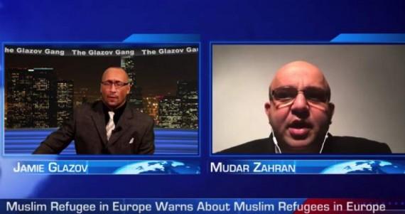 Mudar Zahran immigration massive conquête islamique douce Occident