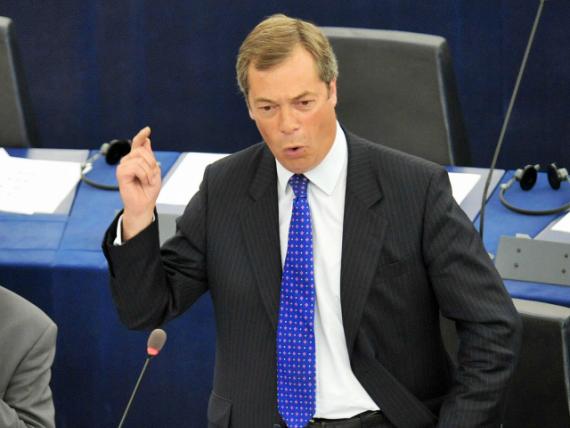Nigel Farage Union européenne politique URSS