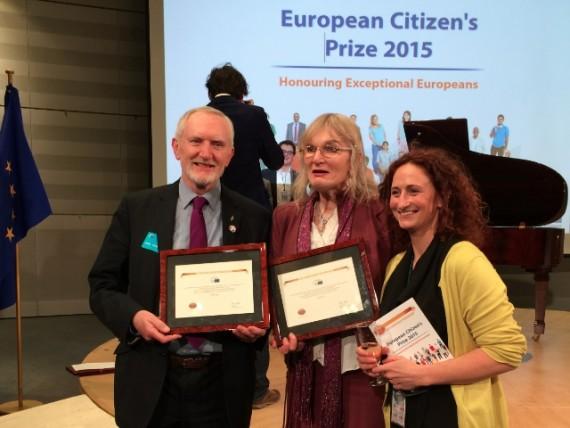 Union européenne récompense transgenre Lydia Foy