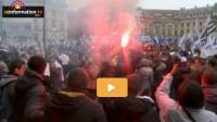 Manifestation des policiers sous les fenêtres de Christiane Taubira…