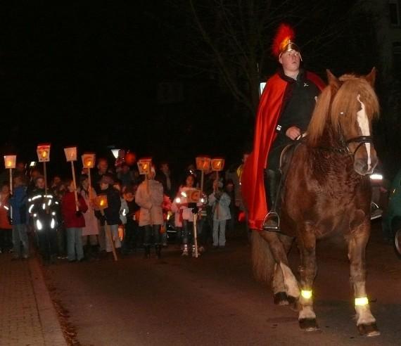 Allemagne Saint Martin Fête Lumières déchristianisation