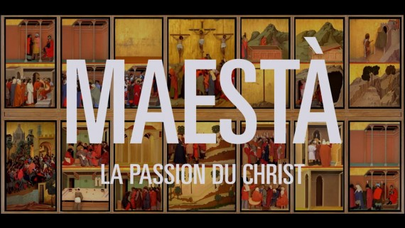 Maesta Passion Christ Chef Oeuvre Peintre Duccio Film experimental
