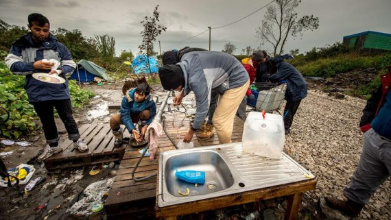 Migrants tribunal aménagements jungle Calais