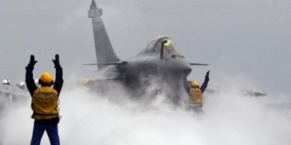 Porte-avions Charles-De-Gaulle Etat islamique