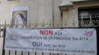 L'église Sainte-Rita menacée de destruction