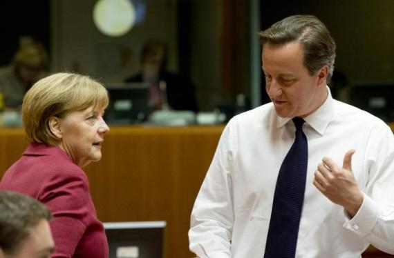 Angela Merkel David Cameron référendum Brexit