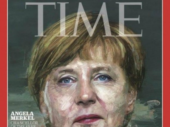 time magazine angela merkel personnalit de l 39 ann e. Black Bedroom Furniture Sets. Home Design Ideas