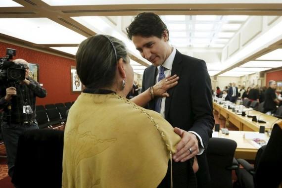 Autochtones Canada Justin Trudeau excuses repentance pape François