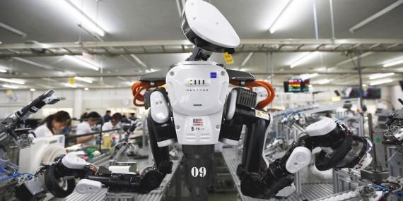 Chine Japon révolution robotique ouvriers robots