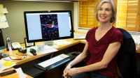 Jennifer Doudna, microbiologiste  à l'Université de Californie, Berkeley. Elle est co-inventeur de la technologie CRISPR-cas9.