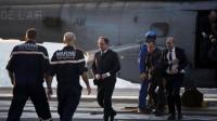 """François Hollande sur le """"Charles-De-Gaulle"""""""