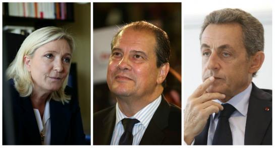 Front national élections régionales Course tête