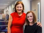 Nadine, robot humanoïde, a «pris ses fonctions» de réceptionniste à l'université de Nanyang