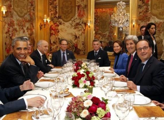 Ouverture COP21 150 chefs Etat lutte réchauffement climatique