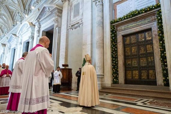 Pape François Année miséricorde porte sainte Vatican II ouverture