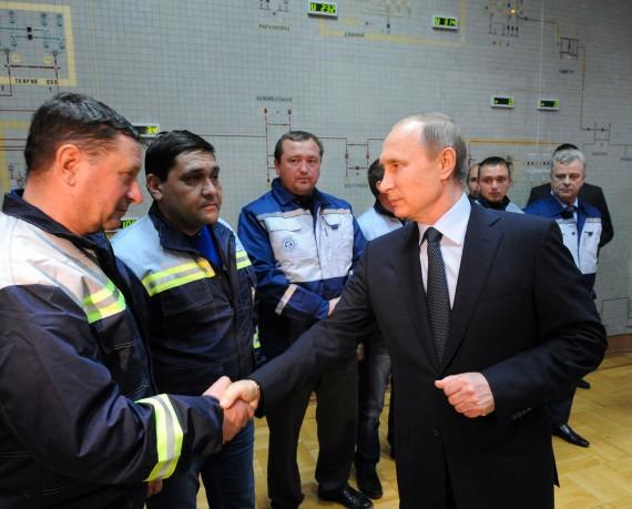 Poutine pont énergétique Russie Crimée