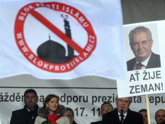 Président tchèque Milos Zeman migrants invasion organisée