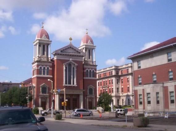 Réunion syncrétiste cathédrale catholique Scranton Etats-Unis