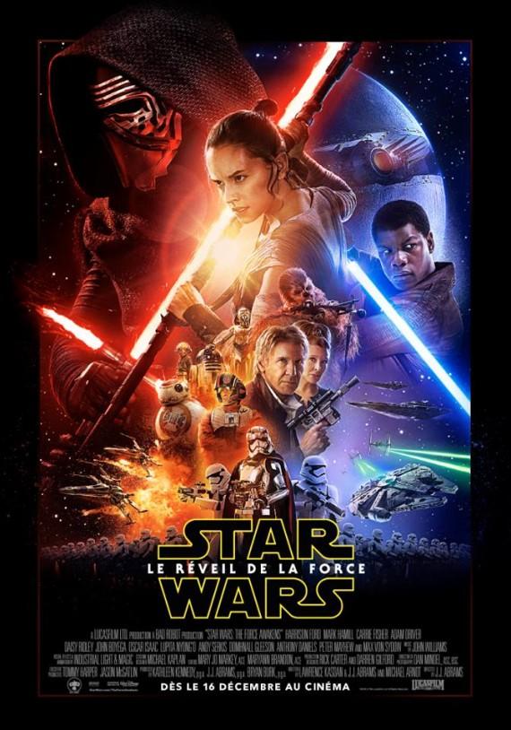 Star Wars réveil Force science fiction George Lucas