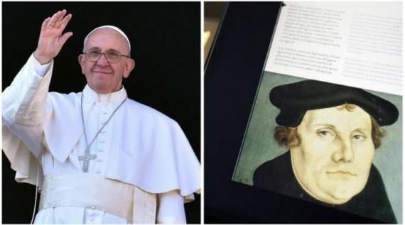Commémoration Réforme Luther pape François