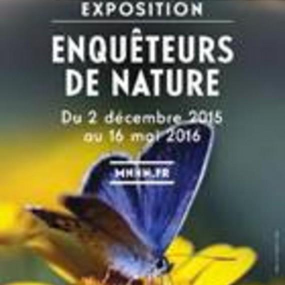 Enquêteur nature sciences naturelles exposition