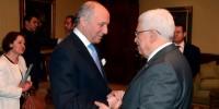 Laurent Fabius veut reconnaître un Etat palestinien