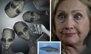 Hillary Clinton promet d'ouvrir les dossiers sur les extra-terrestres et les OVNI