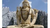 La statue de Shiva à Bangalore en Inde.