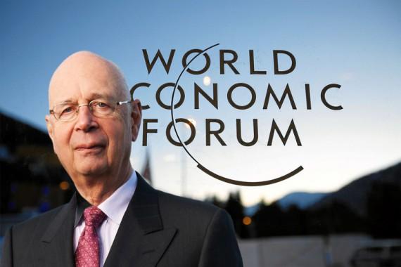 Klaus Schwab Davos tsunami migratoire emprise robots Forum économique mondial