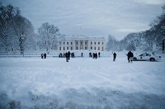 blizzard Jonas réchauffement climatique Etats Unis