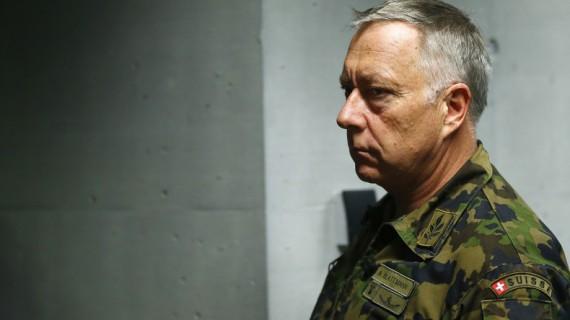 chef armée suisse armer troubles sociaux