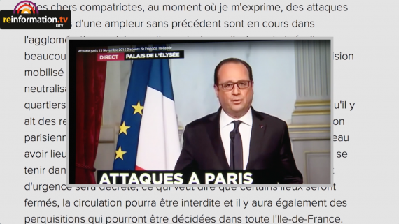 fermeture frontieres attentats Paris Hollande