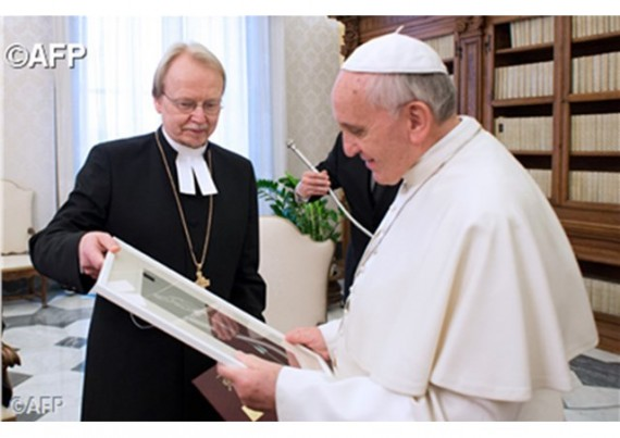 luthériens communion Vatican pape François