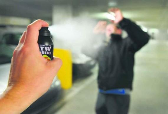 spray poivre violeur Danoise Sonderborg poursuites