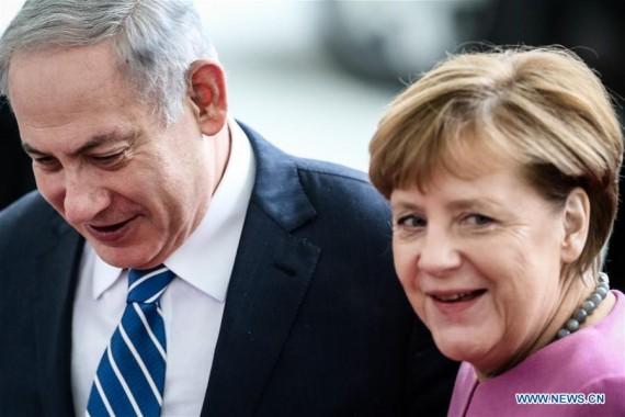 Allemagne Merkel Israël Iran