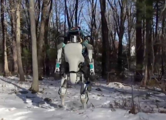 Atlas Google Robot Androïde Grand remplacement