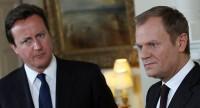 Brexit: négociations difficiles entre David Cameron et Donald Tusk