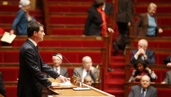 Cartouche Valls déchéance nationalité Constitution