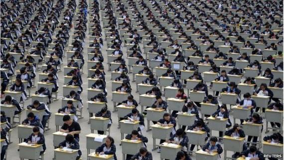 Chine gaokao examen valeurs socialistes fondamentales